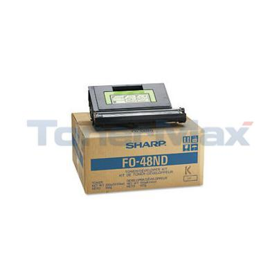 SHARP FO4800 TONER/DEVELOPER KIT BLACK